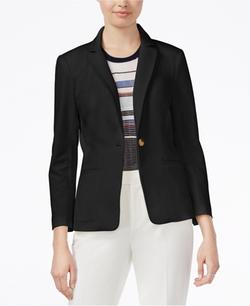 Rachel Roy  - Notched-Collar One-Button Blazer