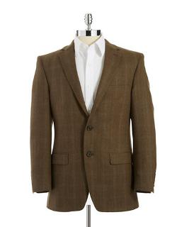 Lauren Ralph Lauren -  Classic Fit Wool Suit Jacket