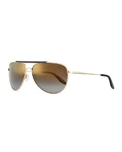 Barton Perreira - Mirrored Aviator Sunglasses