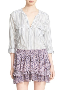 Joie  - Kalnchoe Stripe Cotton Blouse