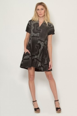 Current/Elliott  - The Rolled Sleeve Shirt Dress