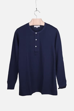 Linder - Long-Sleeve Henley Shirt