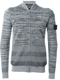 Stone Island Shadow Project - Shawl Collar Zipped Cardigan