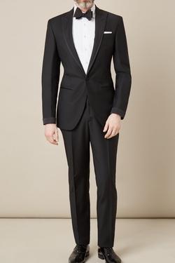 Hackett London - Edge Detail Peak Lapel Tuxedo Suit