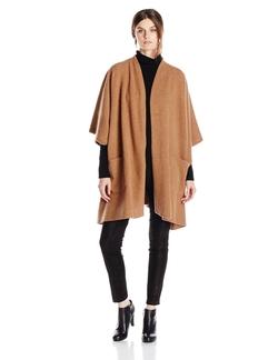 Pendleton - Boiled Wool Knit Cape Cardigan