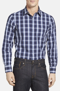 Nordstrom  - Regular Fit Casual Plaid Sport Shirt