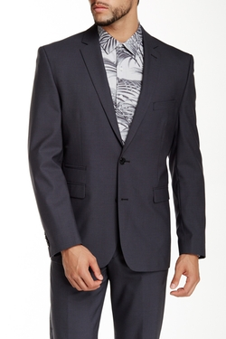Vince Camuto  - Two Button Notch Lapel Wool Suit Separates Jacket