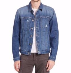Hudson  - Medium-Wash Denim Jacket