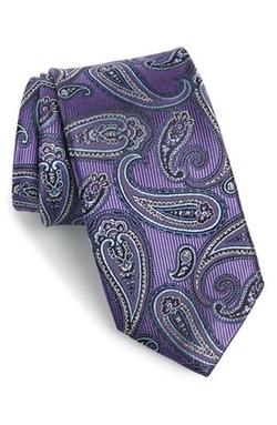 J.Z. Richards - Paisley Silk Tie
