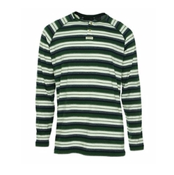 Sean John  - Stripe Thermal Henley Shirt