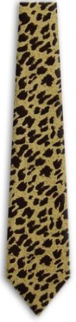 Buy Your Ties - Leopard Print Tie