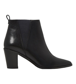 Dune  - Preslee Leather Ankle Boots