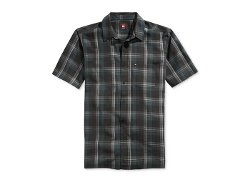 Quiksilver  - Grifter Short-Sleeve Plaid Shirt