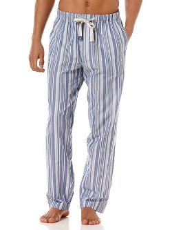 Perry Ellis - Chambray Woven Stripe Sleep Pants