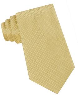 Calvin Klein  - Classic Fit Micro Dot Textured Silk Tie