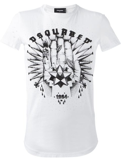 DSQUARED2 - Hand Print T-Shirt