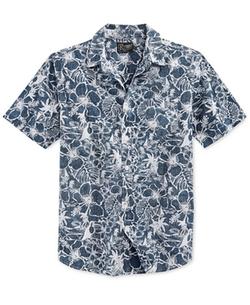 Retrofit - Floral Print Short-Sleeve Shirt