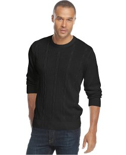 Tricots St. Raphael  - Cable-Knit Crew-Neck Sweater