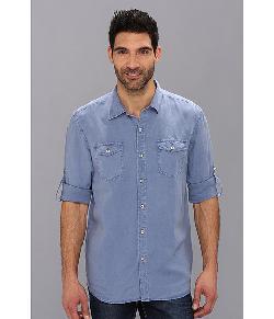 Tommy Bahama  - Denim Island Modern Fit Sand Linen L/S Shirt
