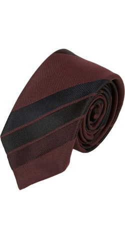 Alexander Olch - Raised-Stripes Neck Tie