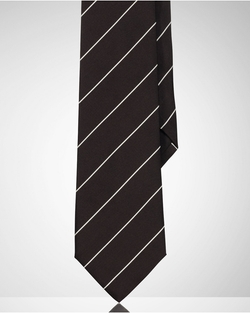 Ralph Lauren - Striped Peau De Soie Tie