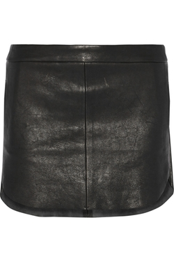 Mason by Michelle Mason - Leather Mini Skirt