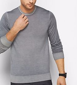 Michael Kors Mens - Washed Merino Wool Sweater