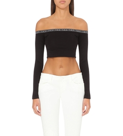 This Is A Love Song - Off-The-Shoulder Jersey Top