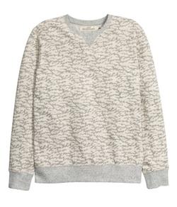 H&M - Printed Design Sweatshirt