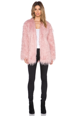 Somedays Lovin - Sacred Faux Fur Coat