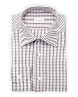 Ermenegildo Zegna - Woven Check Dress Shirt