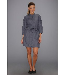 Nau W  - Button-front Closure Dis-dress