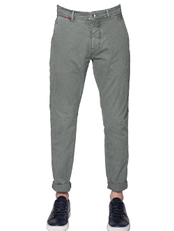 Unlimited - Stretch Cotton Twill Chino Pants