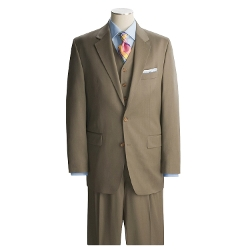 Lauren by Ralph Lauren  - Solid Taupe Suit