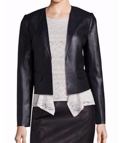 BCBGMAXAZRIA  - Faux Leather Jacket