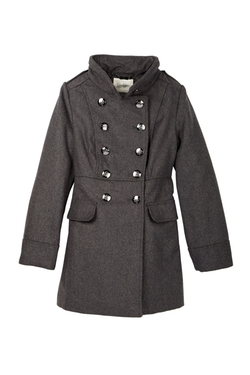 Jessica Simpson - Military Church Coat