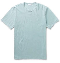 James Perse  - Crew Neck Cotton-Jersey T-Shirt