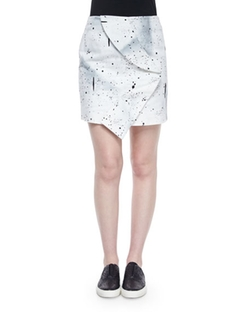 Opening Ceremony - Bandana-Twist Mini Skirt