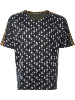 Issey Miyake Men - Zig Zag Pattern T-Shirt