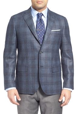 John W. Nordstrom - Plaid Cashmere Sport Coat