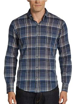 Vince  - Holiday Plaid Sportshirt/Trim-Fit