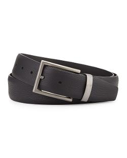 Giorgio Armani   - Grain Leather Belt
