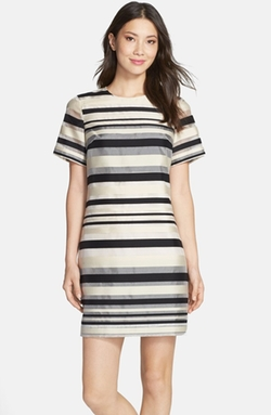 Felicity & Coco  - Stripe Shift Dress