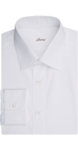 Brioni  - Broadcloth Dress Shirt