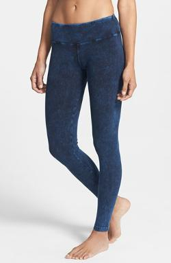 Hard Tail  - Mineral Wash Ankle Leggings