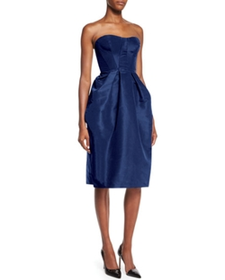 Zac Posen  - Strapless Sweetheart Full Skirt Dress