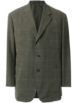 Hermès Vintage - Windowpane Check Blazer