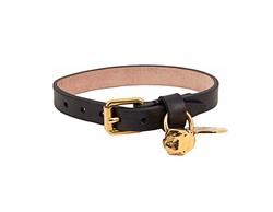 Alexander McQueen - Skull Charm Leather Bracelet