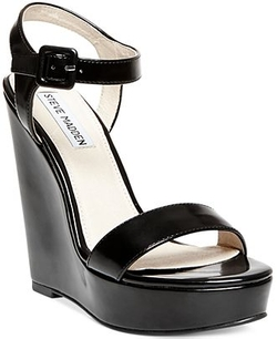 Steve Madden -  Prestine Two-Piece Platform Wedge Sandals