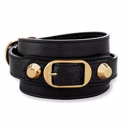 Balenciaga - Classic Leather Wrap Bracelet